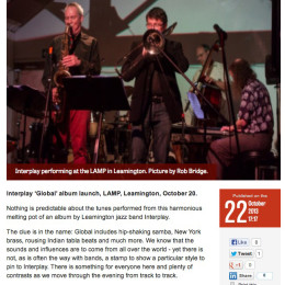 Interplay album launched – and how!
