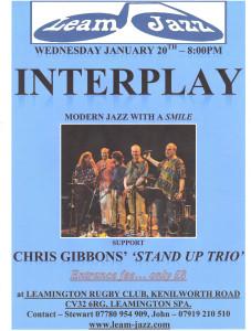 Interplay Leam Jazz flyer