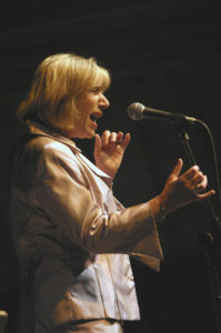 Jazz singer Norma Winstone appearing with Interplay