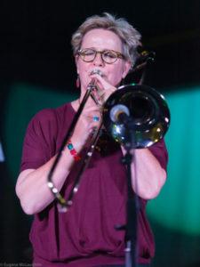 Annie Whitehead, trombone
